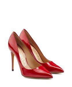 Salvatore Ferragamo | Fiore Patent Leather Pumps Gr. Us 8