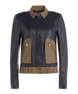 Diane Von Furstenberg | Leather Jacket Gr. Xs