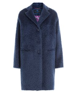 Etro | Mohair-Wool Blend Coat Gr. It 40