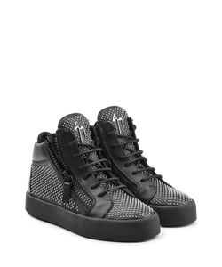 Giuseppe Zanotti Design | Stud Embellished Leather Sneakers Gr. It 36