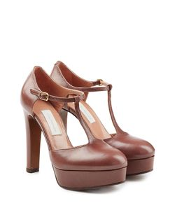 L' Autre Chose | Platform Leather Pumps Gr. It 395