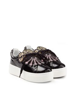 Kenzo | Patent Leather Platform Sneakers Gr. Eu 41