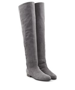 Pierre Hardy | Suede Over The Knee Boots Gr. Fr 36