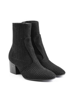 Laurence Dacade | Studded Suede Ankle Boots Gr. It 385