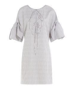 THREE GRACES LONDON | Striped Cotton Nightgown Gr. Uk 8