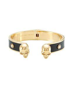 Alexander McQueen | Embellished Leather Cuff Bracelet Gr. M