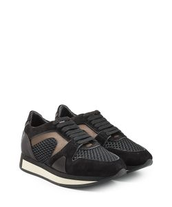 Burberry | Sneakers With Suede And Silk Gr. It 36