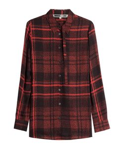 Mcq Alexander Mcqueen | Plaid Silk Blouse Gr. It 38