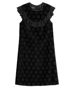 Giambattista Valli | Mini Dress With Velvet And Cut-Out Detail Gr. It 38