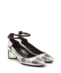 Pierre Hardy | Leather And Snakeskin Mary-Janes Gr. Fr 36