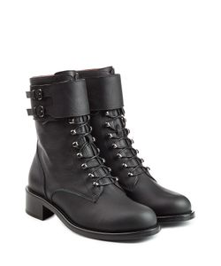 Philosophy di Lorenzo Serafini | Leather Biker Boots Gr. Eu 385