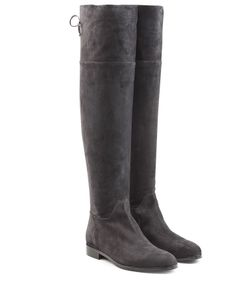 Sergio Rossi | Suede Over-The-Knee Boots Gr. It 38