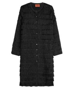 Missoni | Metallic Fringed Coat Gr. It 46