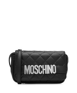 Moschino | Quilted Leather Shoulder Bag Gr. One Size