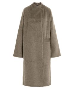 Helmut Lang | Alpaca And Virgin Wool Coat Gr. S