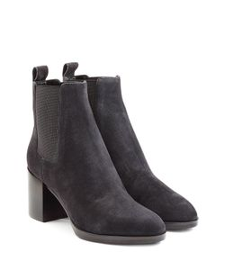 Sergio Rossi | Suede Ankle Boots Gr. It 36
