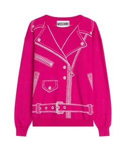 Moschino | Wool Biker Jacket Pullover Gr. L