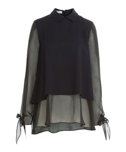 Nobi Talai | Blouse With Wool And Silk Gr. De 36