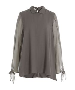 Nobi Talai | Blouse With Wool And Silk Gr. De 38