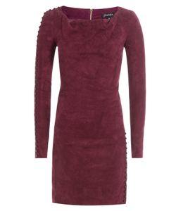 Jitrois | Suede Mini Dress Gr. Fr 36