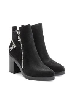 Kenzo | Suede Ankle Boots With Block Heel Gr. Eu 36