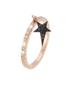 Diane Kordas | 18kt Rose Ring With Diamonds Gr. 6