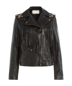 Valentino | Volcano Leather Jacket Gr. It 40
