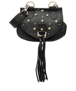 See By Chloe | Embellished Leather Shoulder Bag Gr. One Size