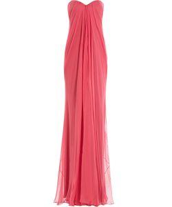 Alexander McQueen | Silk Chiffon Bandeau Gown Gr. It 38