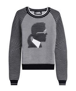 Karl Lagerfeld | Cotton Blend Pullover Gr. M