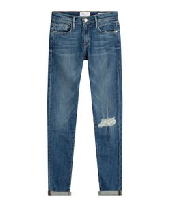 Frame Denim | Le Garcon Distressed Skinny Jeans Gr. 25