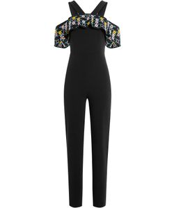 Peter Pilotto | Jumpsuit With Embroidered Bardot Shoulders Gr. Uk 8