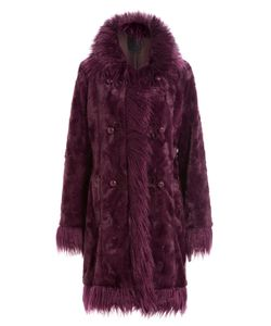 Anna Sui | Faux Fur Coat Gr. Us 8