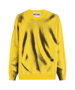 Moschino | Printed Virgin Wool Sweatshirt Gr. M