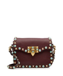 Valentino | Rolling Rockstud Leather Shoulder Bag Gr. One Size