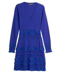 Roberto Cavalli | Fleece Wool Dress Gr. It 38