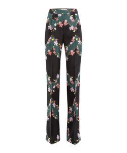 Emilio Pucci | Printed Silk Wide Leg Pants Gr. It 40