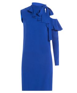 Emilio Pucci | Asymmetric Dress With Cut-Out Detail On Sleeve Gr. It 38
