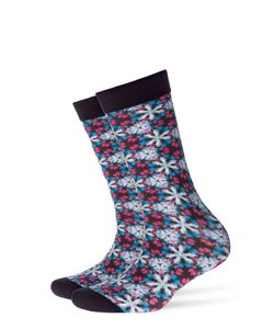 Burlington | Printed Cotton Ankle Socks Gr. Socks 36-41