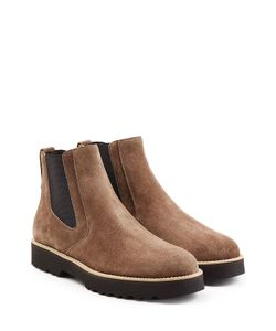 Hogan | Suede Chelsea Boots Gr. It 36