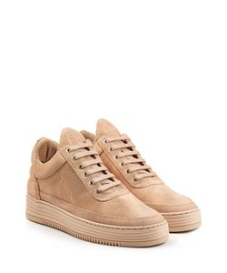 Filling Pieces | Monotone Stripe Suede Sneakers Gr. Eu 38