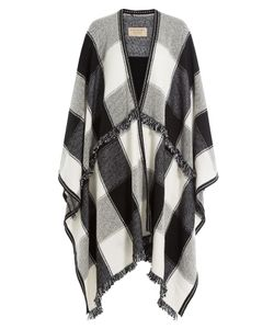 Burberry | Printed Wool Blend Cape With Cashmere Gr. One Size