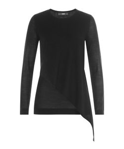Steffen Schraut | Asymmetric Merino Wool Pullover Gr. De 34
