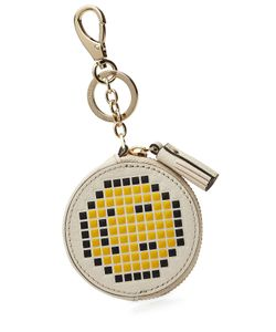 Anya Hindmarch | Leather Pixel Smiley Coin Purse Gr. One Size
