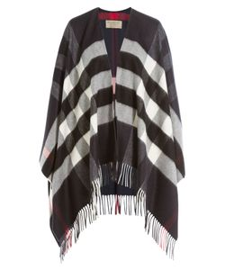 Burberry | Printed Cashmere-Merino Wool Cape Gr. One Size