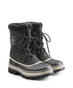 Sorel | Caribou Suede And Rubber Short Boots Gr. Us 10