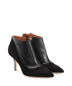 MALONE SOULIERS | Leather Ankle Boots With Suede Gr. Eu 36