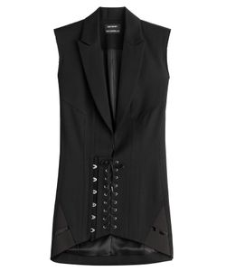 Anthony Vaccarello | Wool Corset Blazer Dress Gr. Fr 34