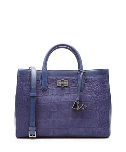 Diane Von Furstenberg | Embossed Gallery Viviana Leather Tote Gr. One Size