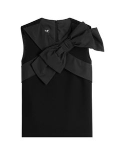 BOUTIQUE MOSCHINO | Virgin Wool Top With Bow Gr. It 38